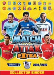 Topps English Premier League 2014-2015. Match Attax Extra