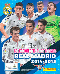 Panini Real Madrid 2014-2015