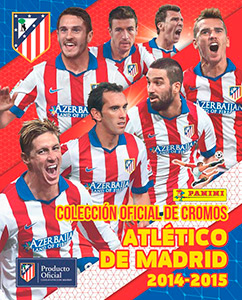 Panini Atletico de Madrid 2014-2015