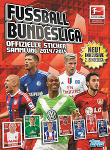 Topps German Football Bundesliga 2014-2015