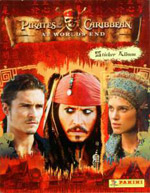 Panini Pirates of the Caribbean: At world's end