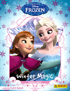 Panini Frozen. Winter Magic. Trading Cards