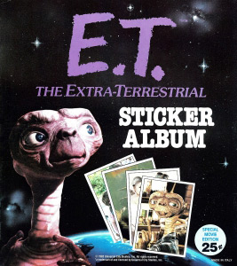 Topps E.T. The Extra-Terrestrial