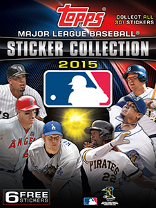 MLB Sticker Collection 2015