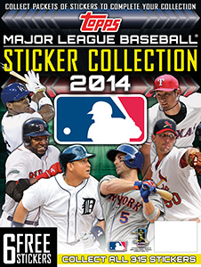 Topps MLB Sticker Collection 2014
