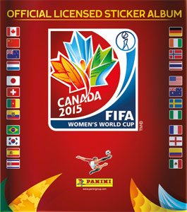 Panini FIFA Women's World Cup Canada 2015