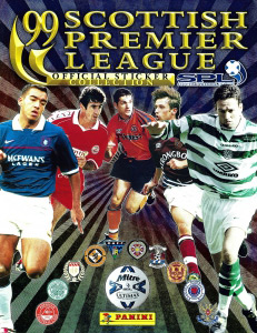 Panini Scottish Premier League 1998-1999