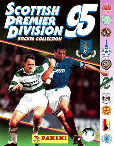 Panini Scottish Premier Division 1994-1995