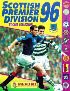 Panini Scottish Premier Division 1995-1996