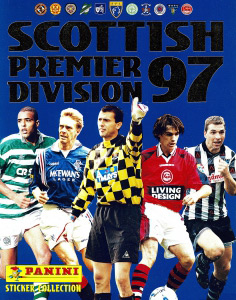 Panini Scottish Premier Division 1996-1997