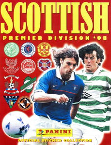 Panini Scottish Premier Division 1997-1998