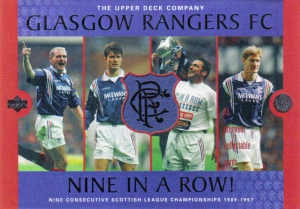 Upper Deck Glasgow Rangers FC 1997-1998