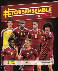 Panini #Tousensemble Road to France 2016
