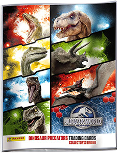 Jurassic World. Trading cards