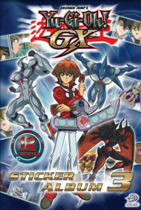 Upper Deck Yu-Gi-Oh! GX Sticker album 3