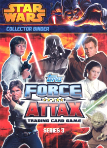 Topps Star Wars Movie Force Attax Series 3