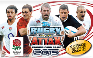Topps Rugby Attax England 2015