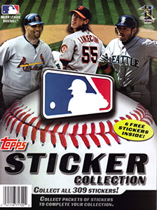 MLB Sticker Collection 2011