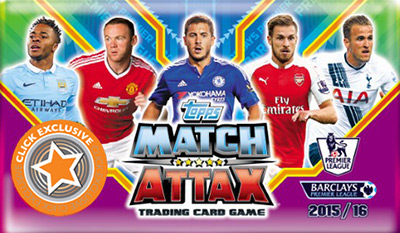 English Premier League 2015-2016. Match Attax