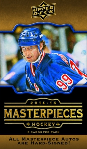 Upper Deck Masterpieces Hockey 2014-2015