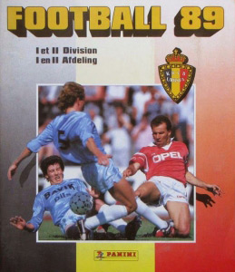 Panini Football Belgique 1988-1989
