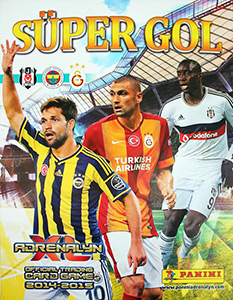 Panini Turkey Süper Gol 2014-2015. Adrenalyn XL