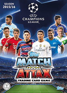 UEFA Champions League 2015-2016. Match Attax