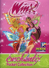 Merlin Winx Club. Enchantix. Pocket Collection