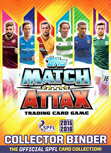 SPFL 2015-2016. Match Attax