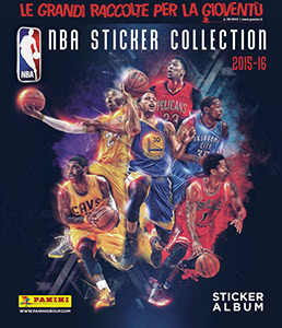 Panini NBA Basketball 2015-2016. European edition