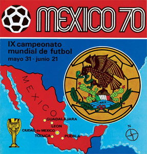 Panini FIFA World Cup Mexico 1970