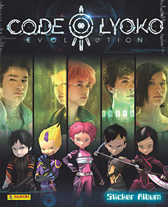 Panini Code Lyoko Evolution