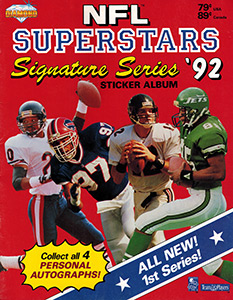 NFL Superstars Signature Series 1992