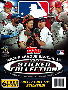 MLB Sticker Collection 2013