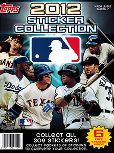 Topps MLB Sticker Collection 2012