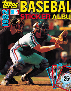 Baseball Sticker Album 1982