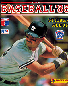 Panini Baseball Sticker Album 1988