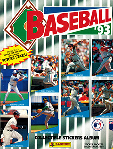 Baseball Sticker Album 1993