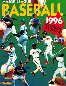 Baseball Sticker Album 1996
