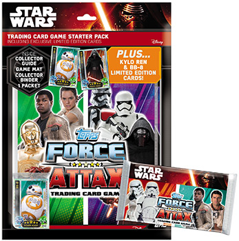 Star Wars The Force Awakens. Force Attax