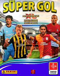Panini Turkey Süper Gol 2013-2014. Adrenalyn XL
