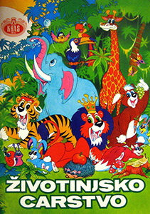 Kraš Animal Kingdom Color book
