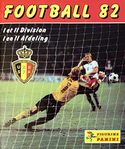 Panini Football Belgique 1981-1982