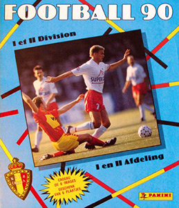 Panini Football Belgique 1989-1990