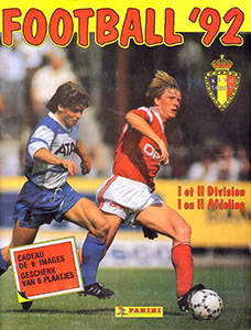 Panini Football Belgique 1991-1992