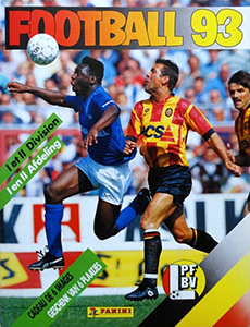 Panini Football Belgique 1992-1993