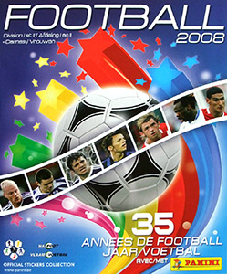 Panini Football Belgique 2007-2008