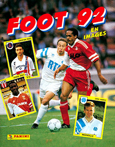 PANINI VIGNETTE STICKERS FOOTBALL FOOT 92 N°148 MONTPELLIER CLAUDE BARRABE