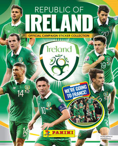 Panini Republic of Ireland. We're going to France!