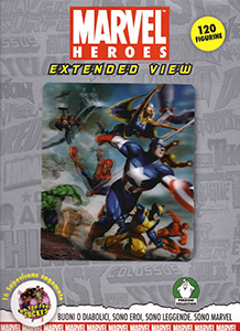 Marvel Heroes Extended View